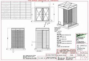 Resources - Drawings For Turnstiles  Pdf