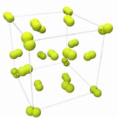 Fluorine Structure Crystal Beta Gases State Animation