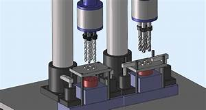 Multi Spindle Head Drilling  Tapping Machine