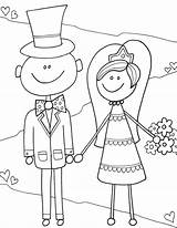 Coloring Pages Bride Activity Drawing Groom Reception Fun Getdrawings Alley Doodle sketch template