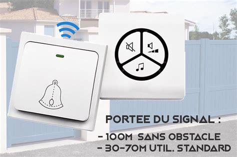 Sonnette Sans Fil Sans Pile Carismart La Sonnette Sans Fil Et Sans Pile Maison Et Domotique