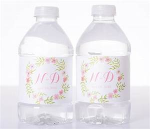 garden wedding vintage wedding water bottle labels With cheap water bottle labels for wedding
