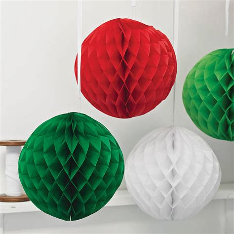 paper luxe honeycomb tissue ball  crafteratti