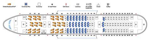 cabine de avec siege boeing 787 8 dreamliner united airlines