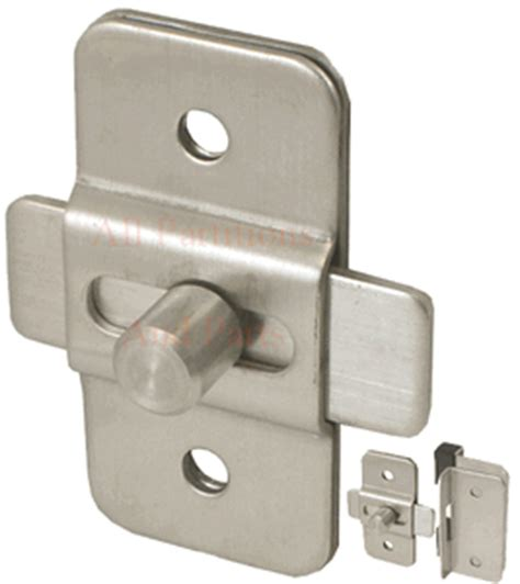 restroom stall door latch stainless steel slide bolt