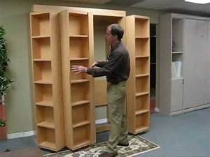 Bookcase Bed Video (no music) - YouTube