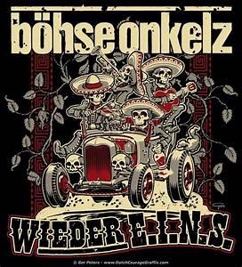 Böhse Onkelz Aufkleber : t shirt artwork wieder e i n s for b hse onkelz punk ~ Jslefanu.com Haus und Dekorationen