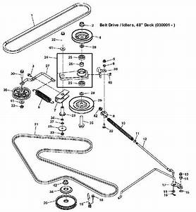 John Deere X540 Garden Tractor Spare Parts