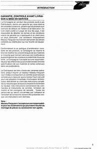 Controle Technique Ploemeur : livret entretien mf 3645 3655 3660 3680 ~ Nature-et-papiers.com Idées de Décoration