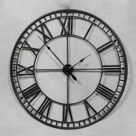 grande horloge murale grande horloge murale en fer forg 233 ajour 233 e sur moinat sa antiquit 233 s d 233 coration