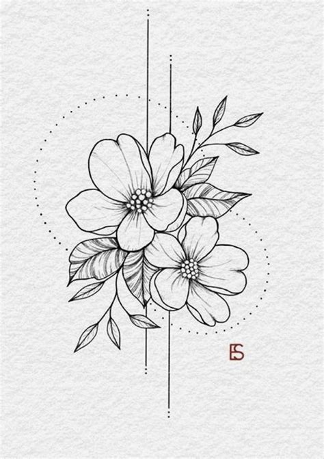May Flowers | Floral tattoo design, Floral drawing, Flower