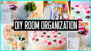DIY room organization & storage ideas! Room decor! Clean