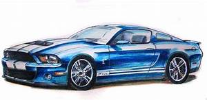 Ford Mustang Gt Drawing at GetDrawings   Free download