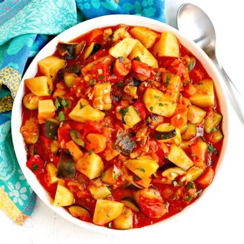 zucchini stew  potatoes veggies save  day