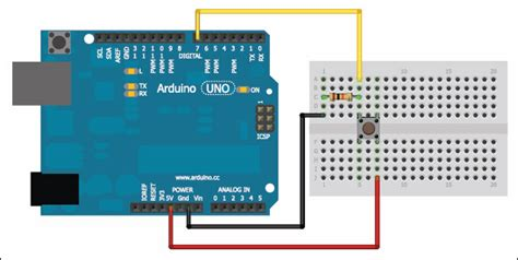 code for blinking led with push button with delay