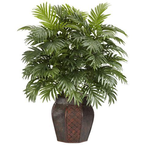artificial bonsai tree 38 inch areca palm in vase 6651