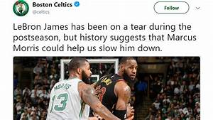 Celtics Twitter account breaks the first rule of the NBA ...