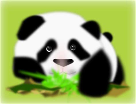 Panda clip art (118345) Free SVG Download / 4 Vector