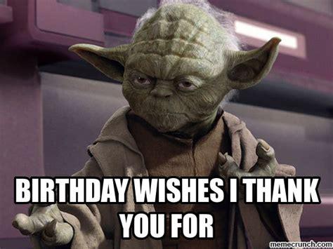 Birthday Wishes Meme - birthday thank you meme memes