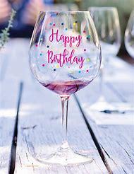 happy birthday wine glass birthday - Happy Birthday Wine Glass