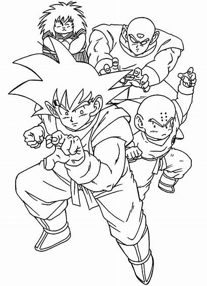 Dragon Ball Coloring Pages Buu Majin Anime