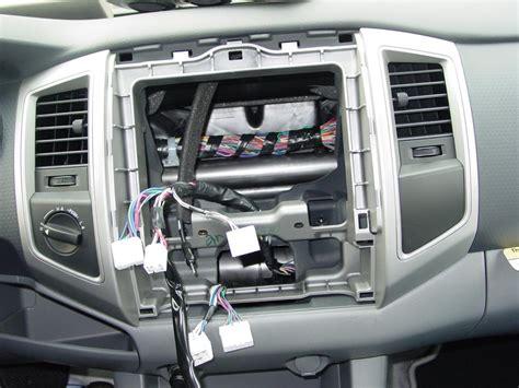 toyota tacoma double cab car audio profile
