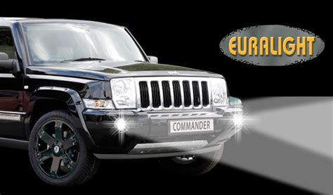 jeep set led tagfahrlicht set jeep commander 2006 2010 hansen