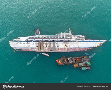 Ship Accident by Boat Crashes Sea Cruise Ship Accident Ship Wreck Disaster