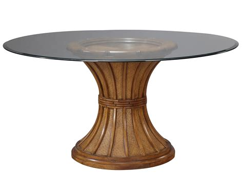 glass top pedestal dining table beautiful pedestal table base for glass top homesfeed