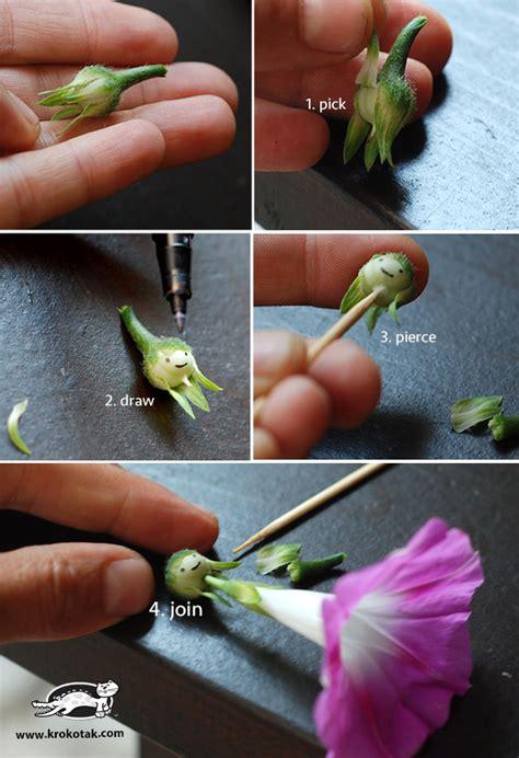 krokotak diy flower fairy dolls  morning glory