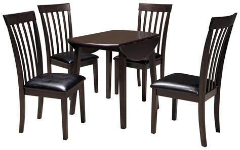5 piece table set signature design by ashley hammis 5 piece round drop leaf