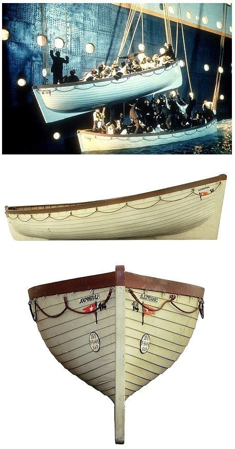 Titanic Lifeboat For Sale by The Lifeboat Used To Rescue Rose Dewitt Bukater In The