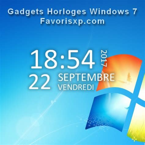 windows gadgets de bureau gadget de bureau comment afficher les gadgets windows 7