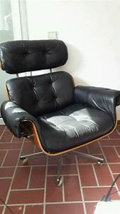 Stühle Im Eames Stil : lounge chair im charles eames stil 60er 70er ledersessel ebay kleinanzeigen mit stil ebay ~ Indierocktalk.com Haus und Dekorationen