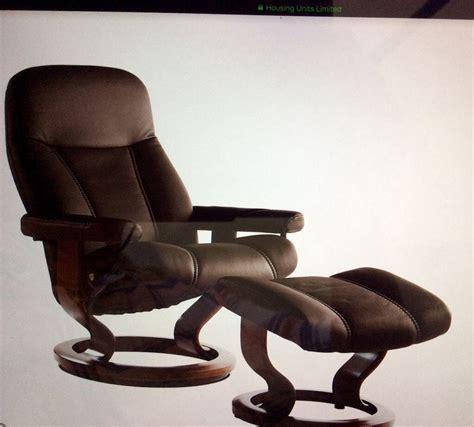 ekornes stressless recliner price reduced in
