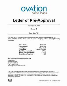 mortgage pre approval letter template the best resume With loan pre qualification letter