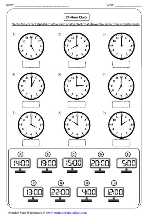 time worksheet   time worksheets converting minutes