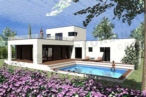 chambre aubergine design plan de maison moderne gratuit toit plat aixen