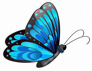 Flying butterfly clipart png
