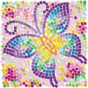 4M Window Mosaic Art Butterfly
