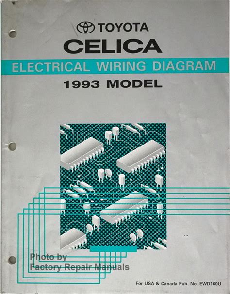 Toyota Celica Electrical Wiring Diagrams Original