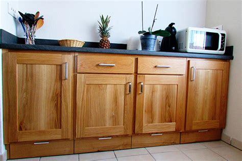 vernis plan de travail cuisine cuisine chene massif vernis naturel plan de travail et