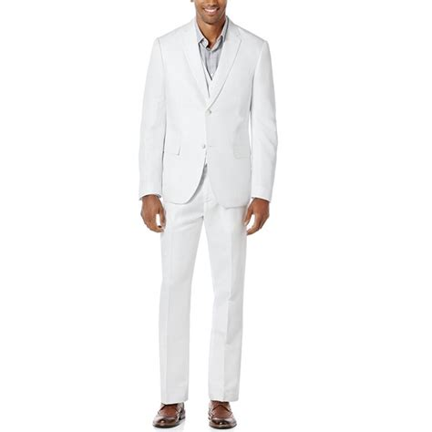 bespoke anna magnan  pieces white mens casual suits