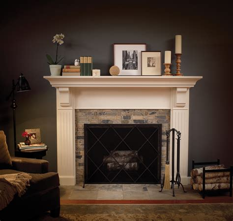 Ideas For Mantels by Cardinal Kitchens Baths Fireplace Mantels