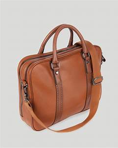 ted baker sandler leather document bag in brown for men lyst With leather document files bags