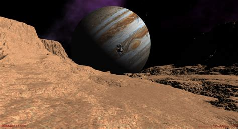 Ganymede & Callisto | Cool Pictures | Planets, moons ...