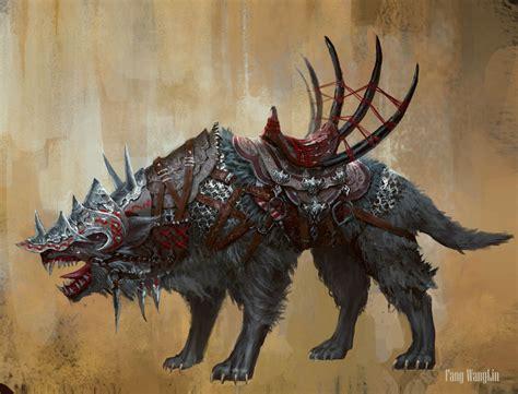 wolf  fangwangllin  deviantart