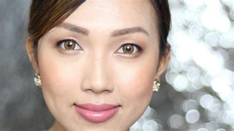 dainty pinay natural bridal makeup  filipino brands