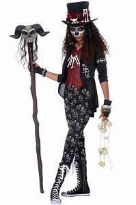 Voodoo Charm Tween Costume - PureCostumes.com