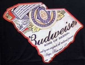 Budweiser South Carolina Sign
